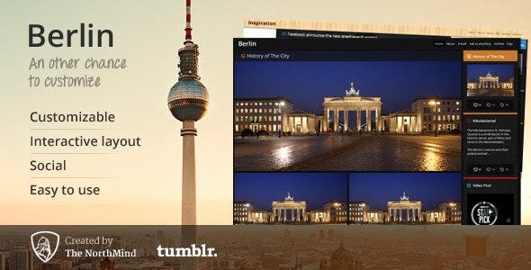 Berlin Tumblr Theme - Tumblr Blogging