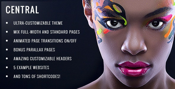 Central - Versatile, Multi-Purpose WordPress Theme - Creative WordPress