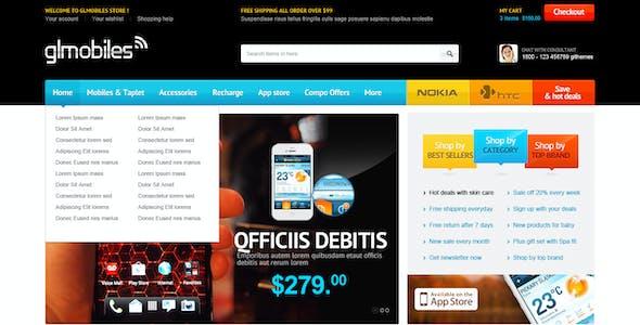 Bossthemes GLMobiles Responsive OpenCart Theme