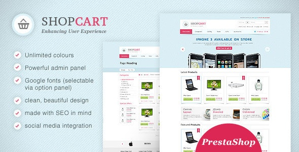 Shopcart Prestashop - Enhance User Experience! - Shopping PrestaShop