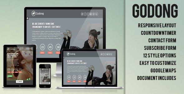 Godong - Responsive Underconstruction Template
