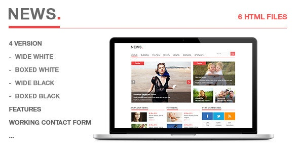 News - Creative Site Templates