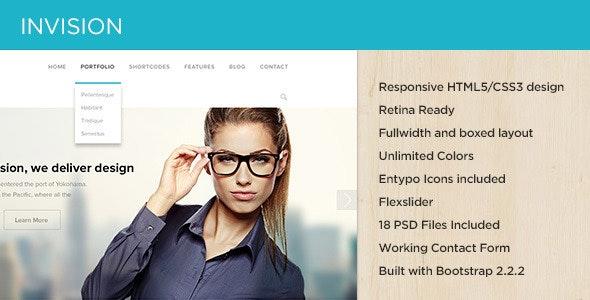 INVISION Corporate Site Template - Business Corporate