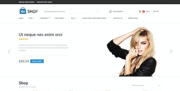 uShop - Responsive Retina WooCommerce Theme