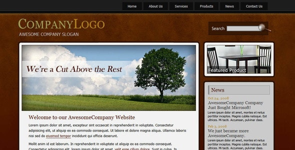 Awesome Company - Business Corporate