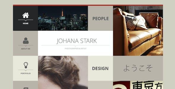 HTML Site - Adaptive Bootstrap Square vCard
