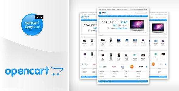 Sancart Opencart Template - Shopping OpenCart