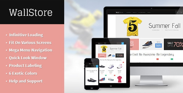JM Wall - The Ultimate Responsive Magento Theme - Magento eCommerce