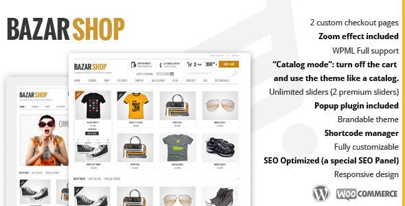 Bazar Shop - Multi-Purpose e-Commerce Theme - WooCommerce eCommerce