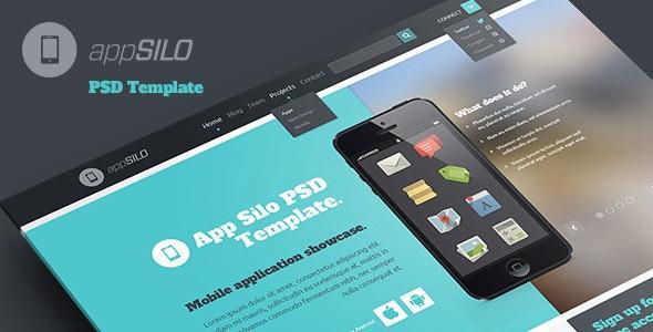 App Silo - PSD Template - Business Corporate