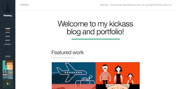 Sideblog - A Modern Responsive Blog & Portfolio