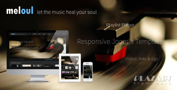 Meloul - Music Responsive Joomla Template - Music and Bands Entertainment