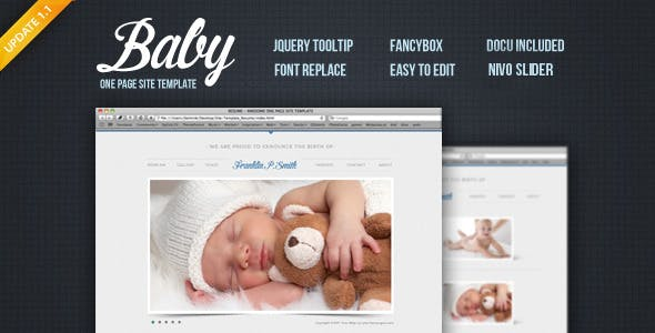 Baby - Site Template