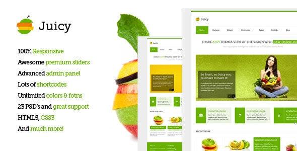 Juicy - Responsive Multi-Purpose WordPress Theme - Corporate WordPress