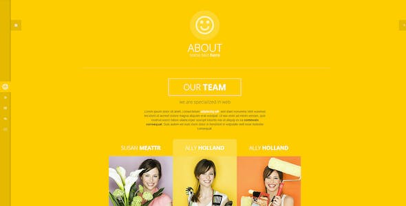 Statti - Responsive Bootstrap Animated Template