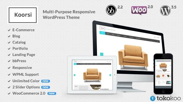 Koorsi – Furniture Woocommerce Theme - WooCommerce eCommerce