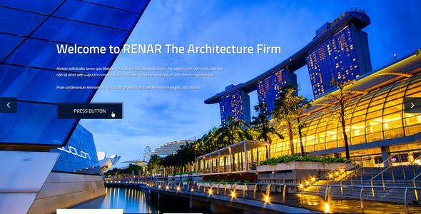 Renar - Premium Architect PSD Template