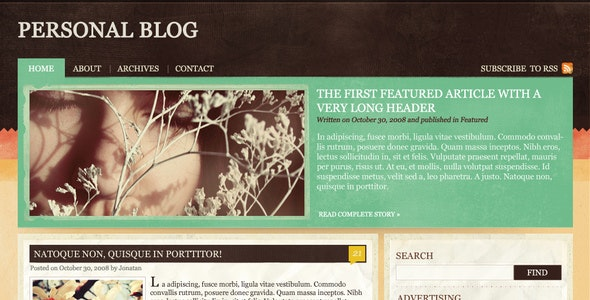 Blog, News, magazine & Portfolio theme - Portfolio Creative