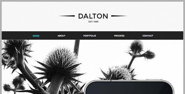 Dalton | Premium Adobe Muse Template
