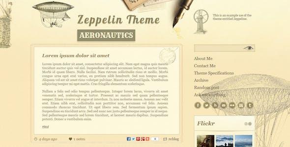 Zeppelin - Vintage Style Tumblr Theme