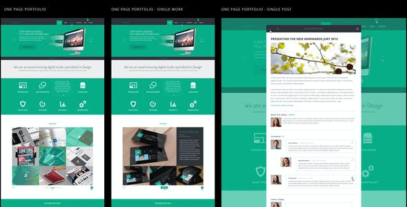 Spooky - Responsive One Page HTML Template