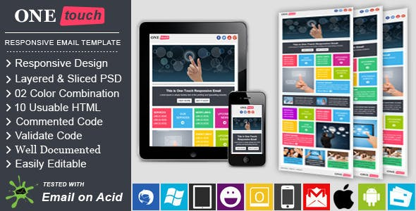 ONETOUCH - Responsive Email Template