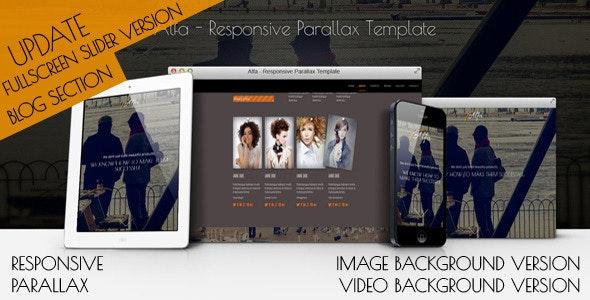 Alfa Responsive OnePage Wordpress Theme - Portfolio Creative