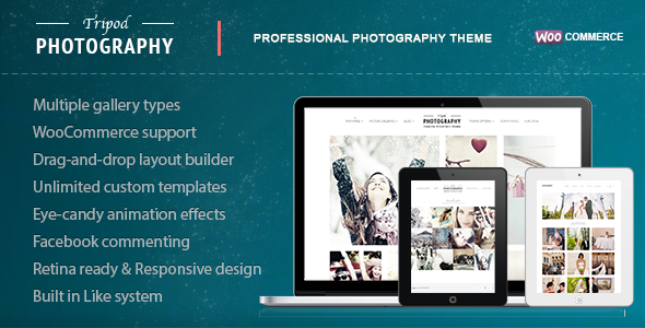 Tripod - Professional WordPress Photography Theme - Photography Creative