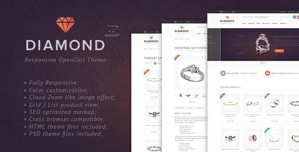 Diamond — Responsive OpenCart Theme - OpenCart eCommerce