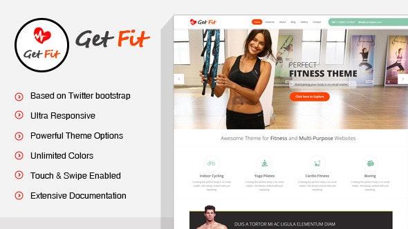 GetFit - Fitness Gym WordPress Theme - Miscellaneous WordPress