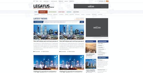 Legatus - Responsive News/Magazine HTML Template