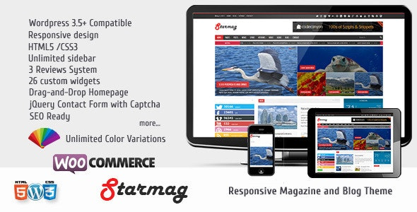 StarMag - News & Magazine Theme - Blog / Magazine WordPress