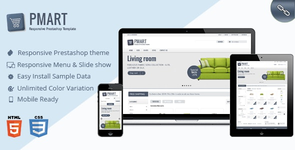 Pmart - Responsive and Clean Ecommerce theme - Miscellaneous PrestaShop