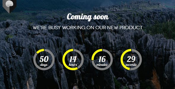Snaily - Responsive Coming Soon HTML Template