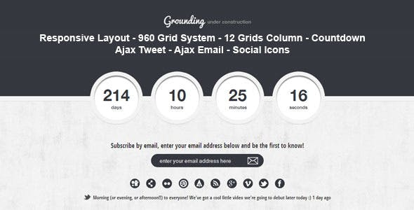 Grounding - Under Construction Page
