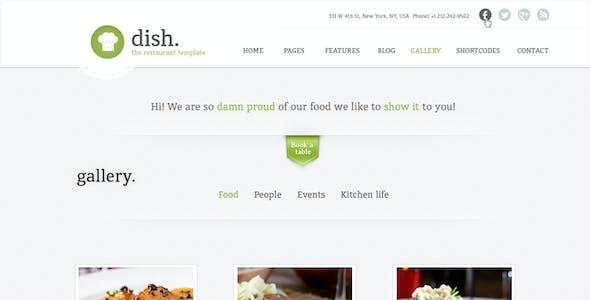 Dish Restaurant Multipurpose WordPress Theme