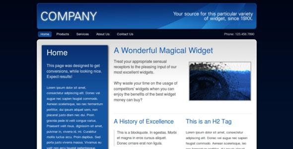 Dark Business - Corporate Site Templates