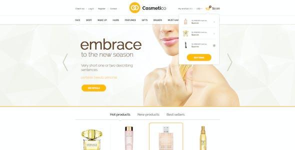 Cosmetico - Beauty Shop PSD Template