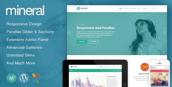 Mineral - Responsive Multi-Purpose WordPress Theme - Portfolio Creative