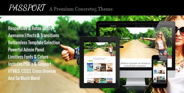 Download Passport - A Premium Concrete5 Theme
