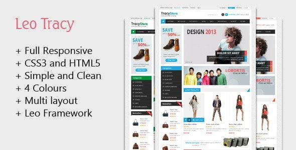 Leo Tracy Prestashop Theme for Fashion & Accessories - Fashion PrestaShop