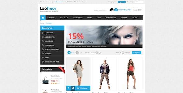 Leo Tracy Prestashop Theme for Fashion & Accessories