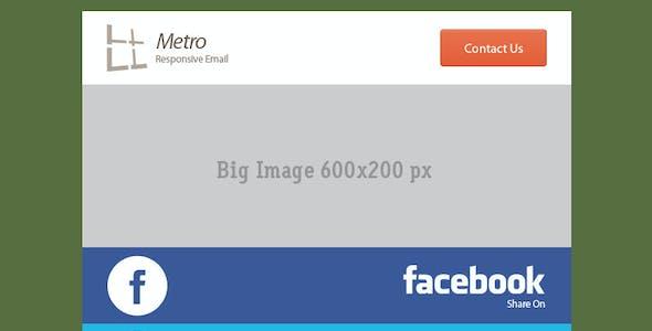54 General Metro Email Templates - Dark / Light