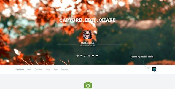 Envato Portfolio + Support + Freebies Website