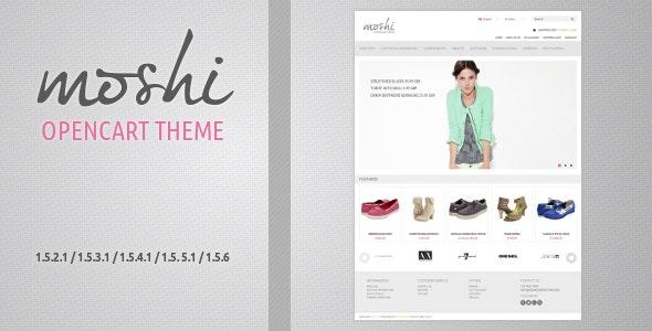 Moshi - Responsive OpenCart Theme - OpenCart eCommerce