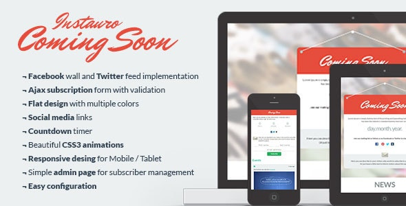 Instauro Coming Soon / Under Construction - Under Construction Specialty Pages