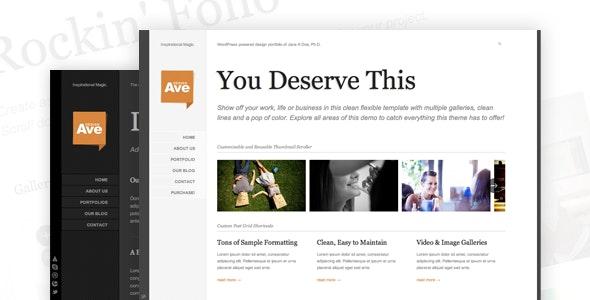 Design Avenue WordPress Portfolio - Portfolio Creative