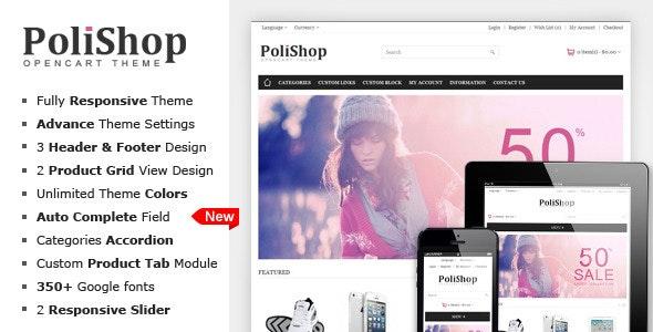 Polishop - Responsive OpenCart Theme - OpenCart eCommerce