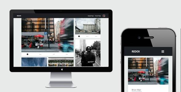 Redox WordPress Theme - Blog / Magazine WordPress