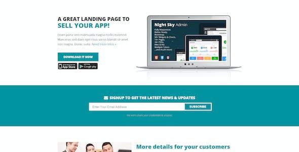 FlatDuplex Landingpage